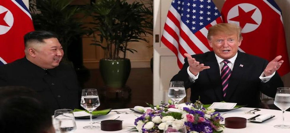 Trump and Kim met last week in Vietnam to negotiate on getting rid of North Korea's nuclear arsenal, but the summit broke up early with no progress. (File photo)