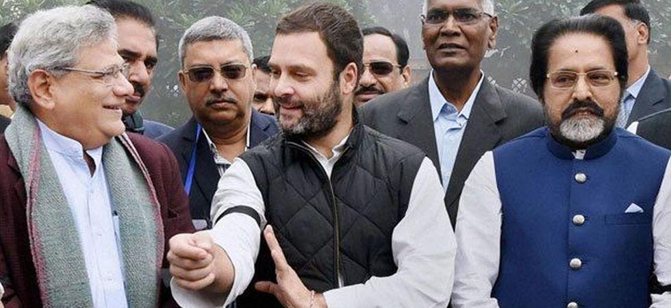 Sitaram Yechury and Rahul Gandhi (File Photo)