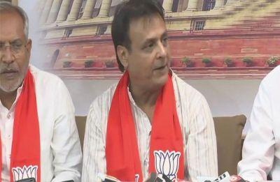Jawahar Chavda, former Gujarat Congress legislator, joins BJP