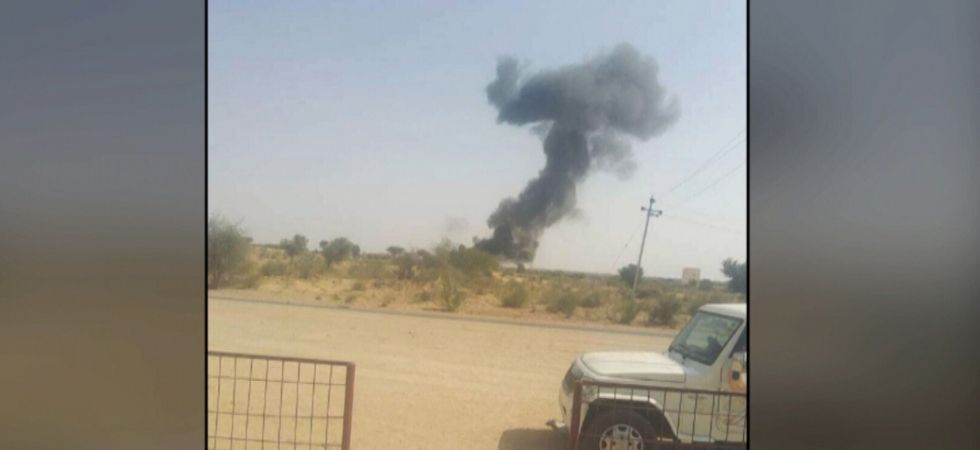 Indian Air Force plane crashes in Rajasthan's Bikaner district: PTI