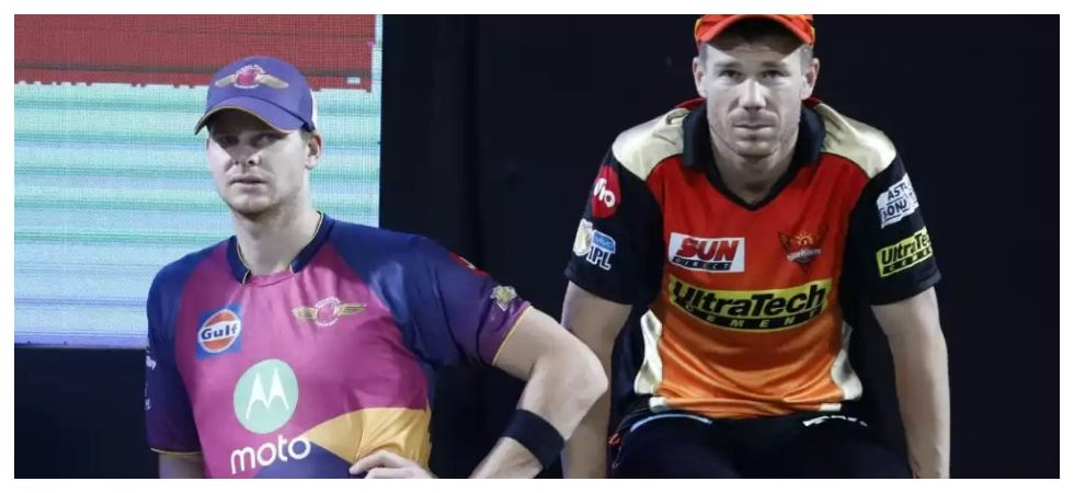 David Warner and Steve Smith will play in the Indian Premier League for Sunrisers Hyderabad and Rajasthan Royals respectively. (Image credit: Twitter)