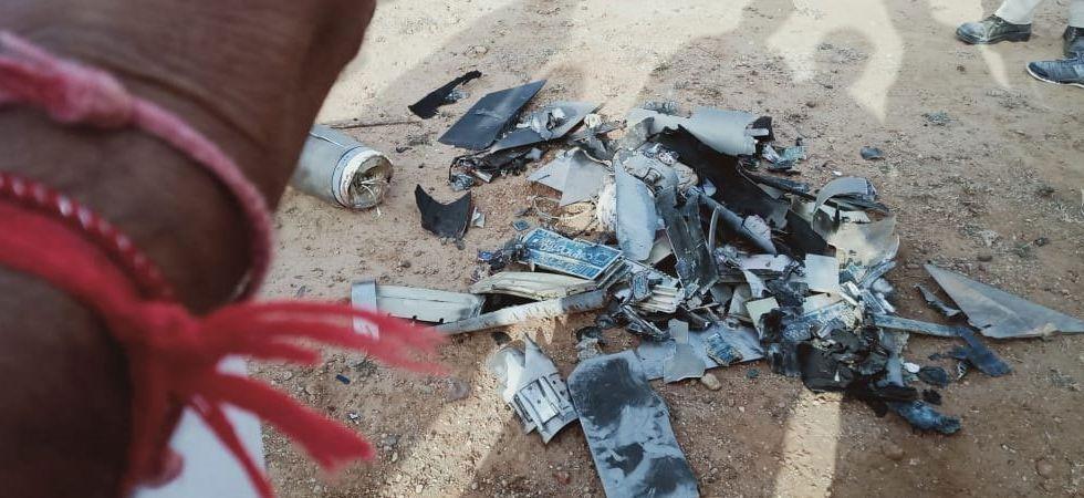 File photo of Pakistani drone shot down in Gujarat's Kutch on February 26, 2019.