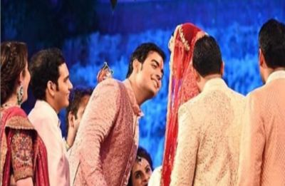 Akash Ambani-Shloka Mehta wedding: Check out the first PHOTOS of newlyweds