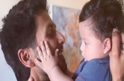 Shahid Kapoor shares an adorable picture with son Zain Kapoor and we just can't keep calm!