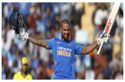 Shikhar Dhawan turns the clock back with brilliant century in Mohali against Australia
