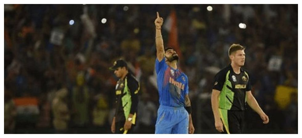 649e6c49012 The Mohali crowd believe Virat Kohli s current Indian cricket team needs no  changes ahead of the