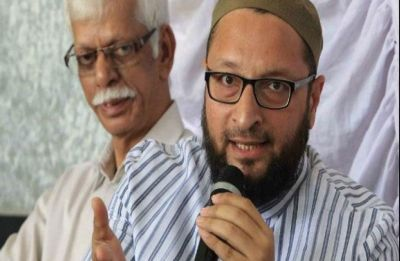Third strike was when PM Modi landed at Nawaz Sharif's house in 2015: Owaisi to Rajnath Singh