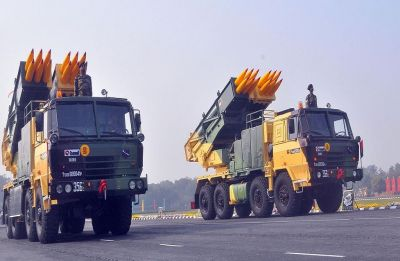 India successfully tests Pinaka guided extended range rockets off Pokhran Range in Rajasthan