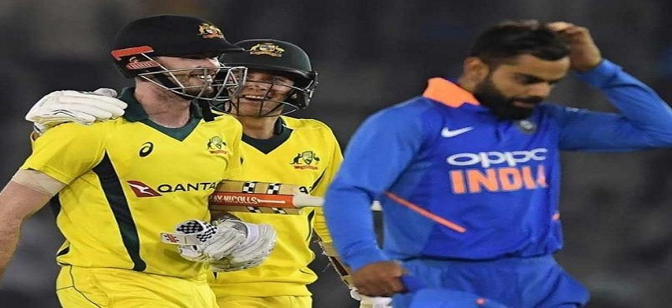 Australia have a chance to win an ODI series in India after 10 years ahead of the final game in New Delhi. (Image credit: Twitter)