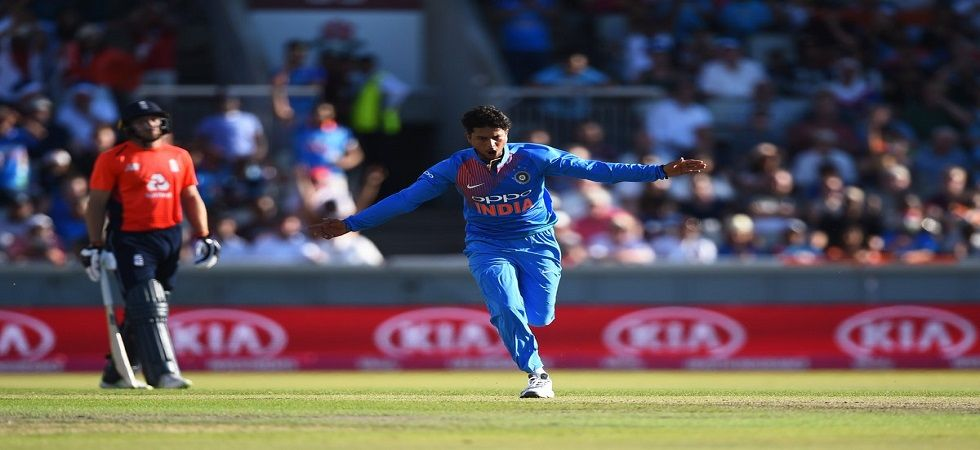 India wrist spinner Kuldeep Yadav drop by a notch to occupy the fifth spot (Image Credit: Twitter)