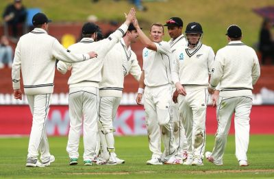 New Zealand clinch series against Bangladesh despite rain interruptions in Wellington Test