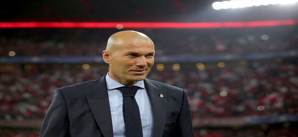 Zinedine Zidane will manage Real Madrid for the next three years after Santiago Solari was sacked. (Image credit: Twitter)