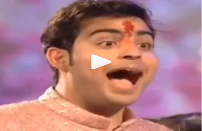 Akash Ambani's reaction on seeing Shloka Mehta as a bride for the first time is EPIC