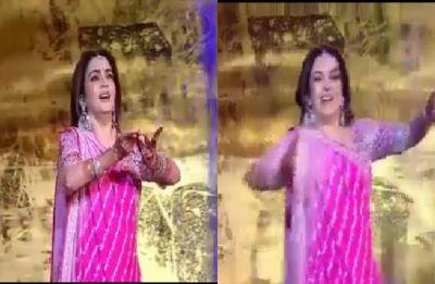 Watch: Nita Ambani's dance performance at son Akash's wedding will steal your hearts