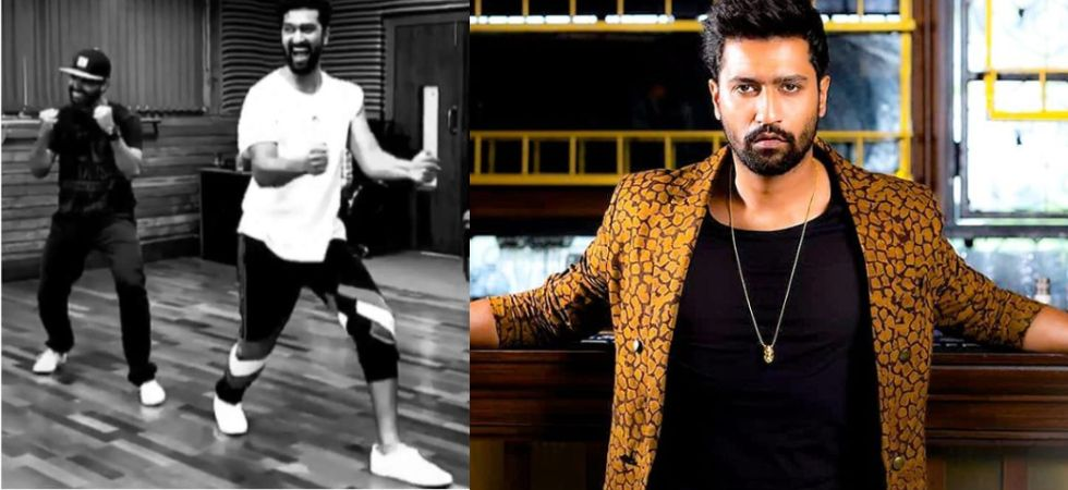 Vicky Kaushal's energy is infectious in THIS dance rehearsal video (Instagram)