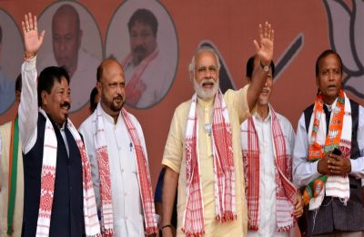 BJP and AGP to contest upcoming Lok Sabha Elections 2019 together in Assam