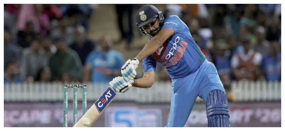 Rohit Sharma took 205 matches to make 8000 runs while Sourav Ganguly took 208 matches to reach the milestone. (Image credit: Twitter)