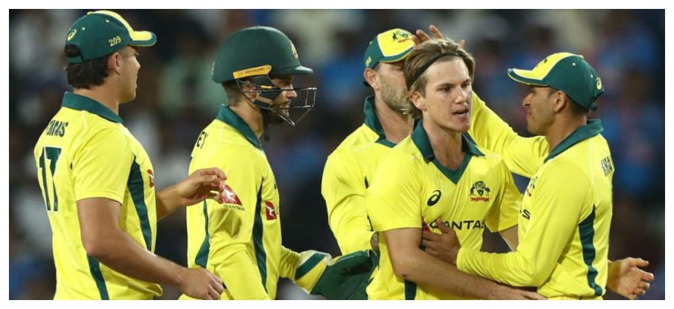 Adam Zampa got the big wicket of Rohit Sharma as Australia dominated the deciding ODI against India at the Feroz Shah Kotla. (Image credit: Twitter)