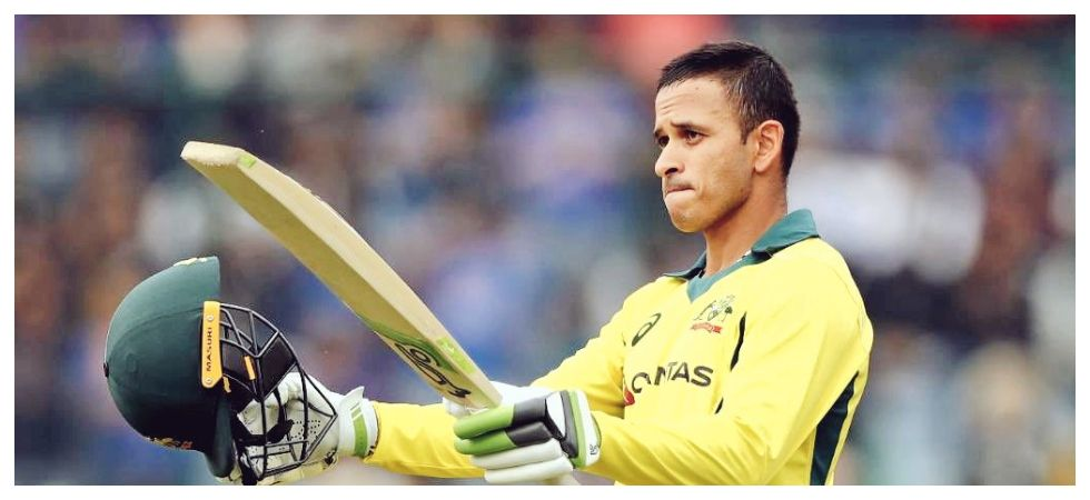 Usman Khawaja won the Man of the Series award for his tally of 383 runs, which is the best by a visiting player in a five-match series in India. (Image credit: Twitter)