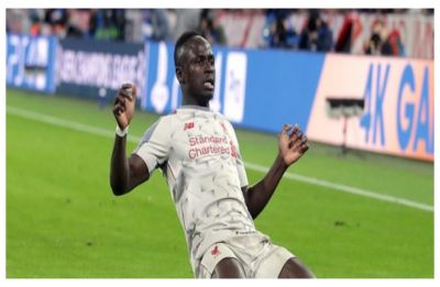 Sadio Mane helps Liverpool beat Bayern Munich, enter UEFA Champions League quarterfinals