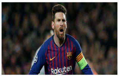 Lionel Messi powers Barcelona into UEFA Champions League quarterfinals