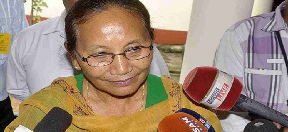 Bodoland Peoples' Front MLA and state minister Pramila Rani Brahma
