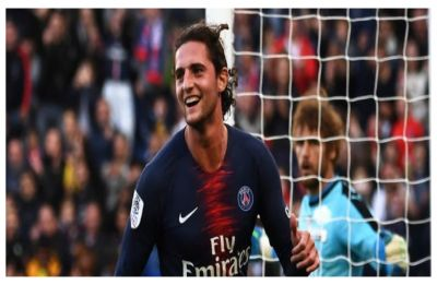 Adrien Rabiot suspended for a month by Paris Saint-Germain for visiting nightclub