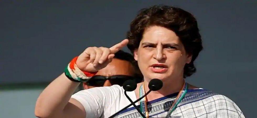 Congress General Secretary Priyanka Gandhi (Photo Source: @INCIndia)