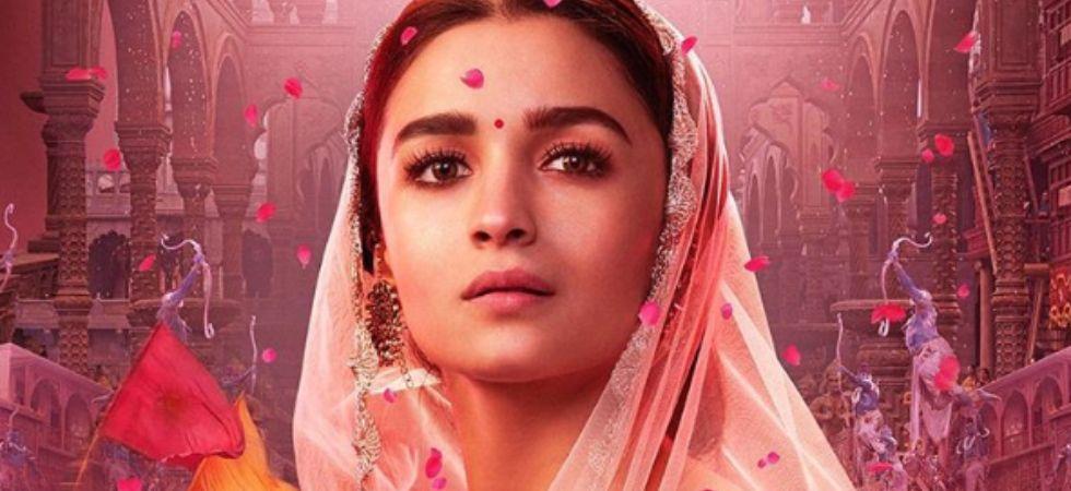 Alia Bhatt looks absolutely regal in new poster./ Image: Instagram