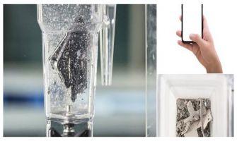 WATCH   What happens when scientists put smartphone in blender