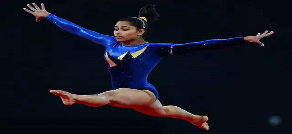 Dipa Karmakar will not participate in the Doha Gymnastics World Cup after injuring her knee in the Baku competition. (Image credit: Twitter)