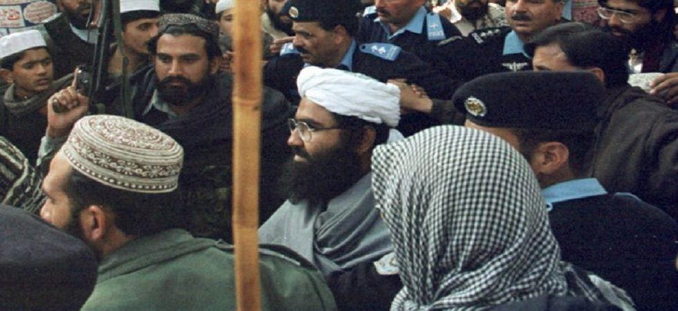 Jaish-e-Mohammed chief Masood Azhar.