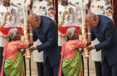 When 'Mother of Trees' broke strict protocol of Rashtrapati Bhavan to bless Prez Kovind