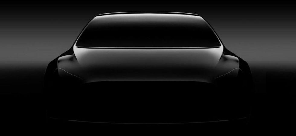 Tesla chief executive Elon Musk showed off the