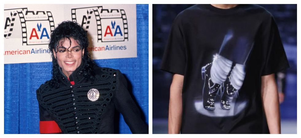 Louis Vuitton removes Michael Jackson-inspired clothing from new collection (Photo: Twitter)