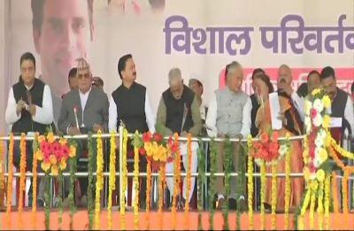 'Achhe din hai' turned into 'chowkidar chor hai' in 4 years, says Rahul Gandhi
