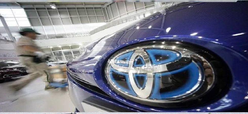 Toyota to hike prices of some cars from April onwards (file photo)
