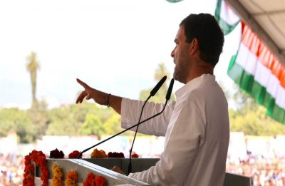 If voted to power, Congress will ensure guaranteed minimum income for poor: Rahul Gandhi
