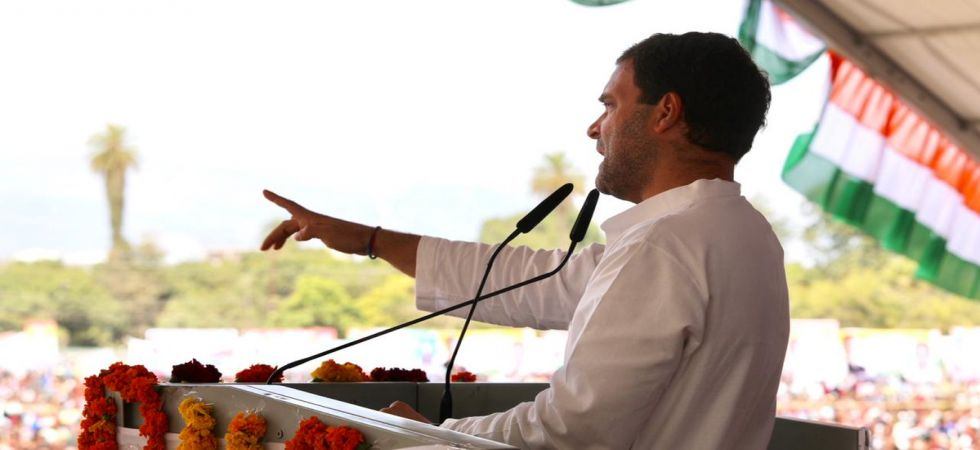 If voted to power, Congress will ensure guaranteed minimum income for poor, declares Rahul Gandhi