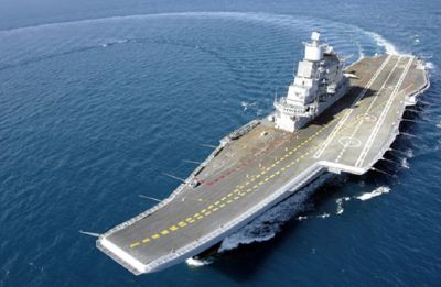 Amid tensions, INS Vikramaditya, nuclear submarines deployed in Northern Arabian Sea: Navy