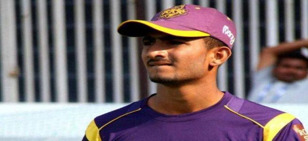 KC Cariappa, who was picked up for Rs 2.4 crore in the 2015 IPL Auction by Kolkata Knight Riders, is back in the franchise for the 2019 edition. (Image credit: Twitter)