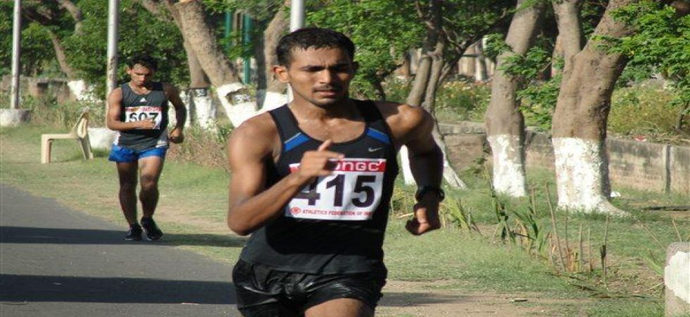KT Irfan became the first Indian in the athletic field to enter the 2020 Tokyo Olympics. (Image credit: Twitter)