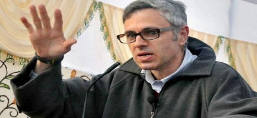 National Conference leader and former Jammu and Kashmir chief minister Omar Abdullah.