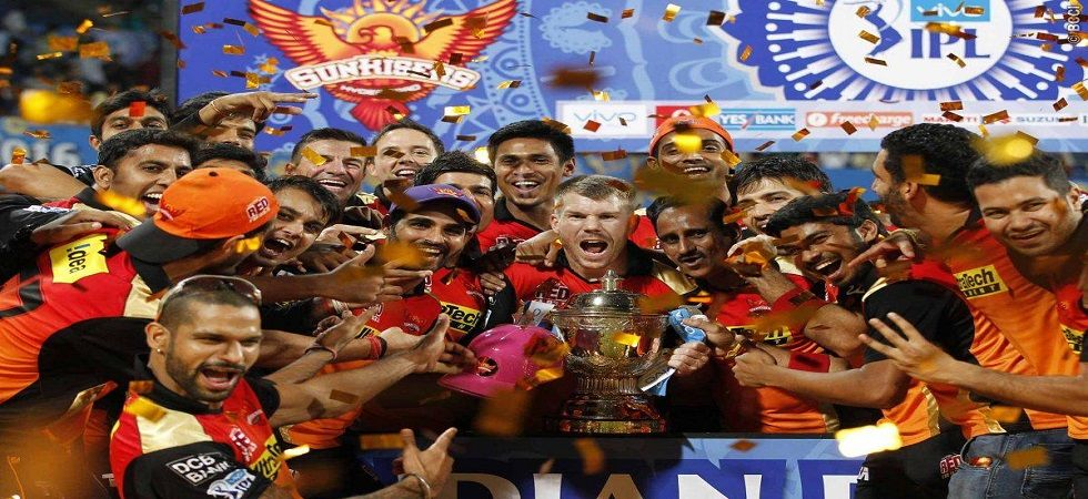 David Warner is back for Sunrisers Hyderabad and they wll be determined to repeat their success of 2016 in this edition of the IPL. (Image credit: Twitter)
