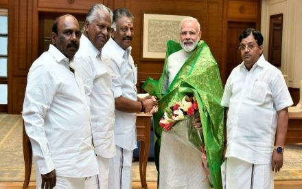 AIADMK-BJP alliance releases seat-sharing deal in Tamil Nadu