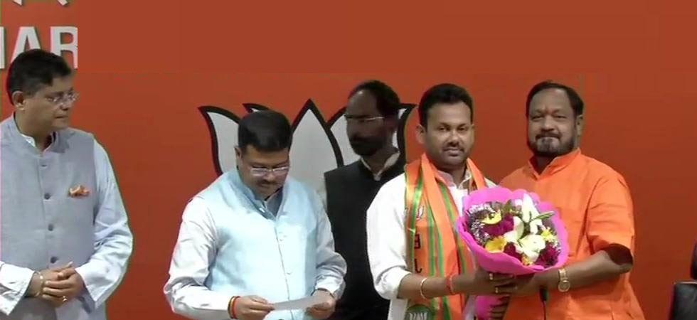 Odisha MLA Prakash Chandra Behera joins BJP after quitting Congress
