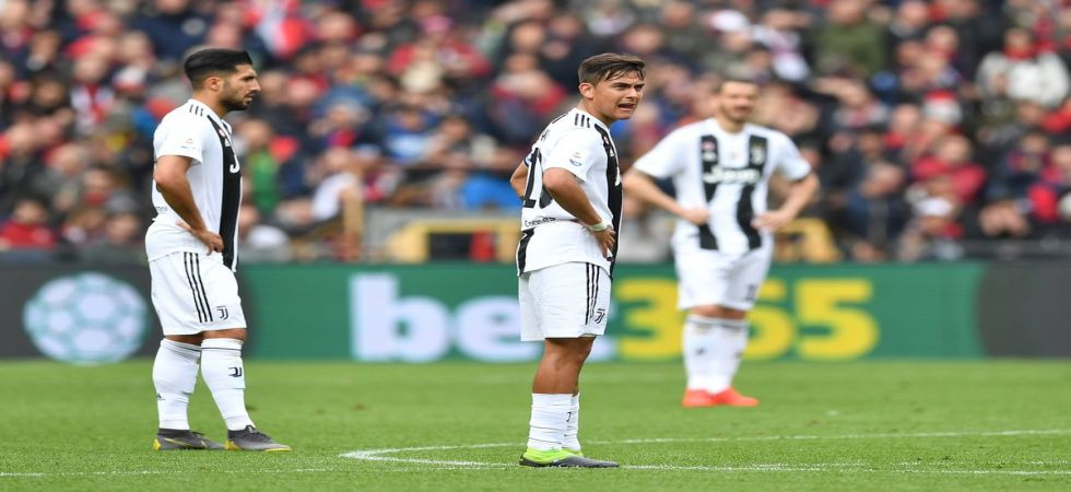 Juventus suffered their first loss in the 2018/19 Serie A season as Cristiano Ronaldo was rested for the game against Genoa. (Image credit: Twitter)