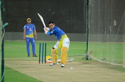 MS Dhoni shenanigans light up Chepauk in Chennai Super Kings practice before IPL 2019