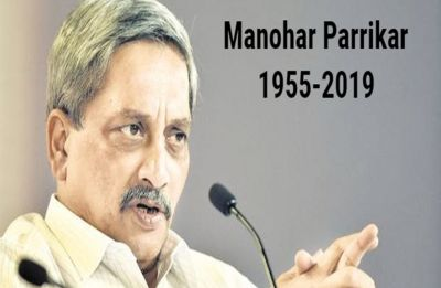 Manohar Parrikar cremated with state honours at Goa's Miramar Beach