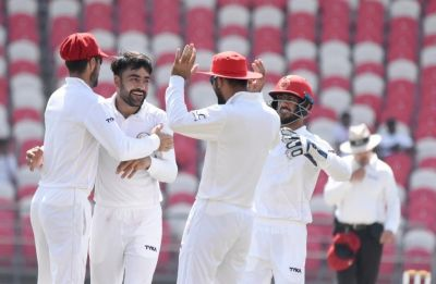 Rashid Khan creates history, puts Afghanistan on cusp of famous Test win